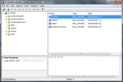 Registry Viewer
